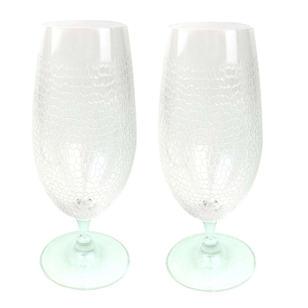 Panthera Clear Stemmed Water set of 2