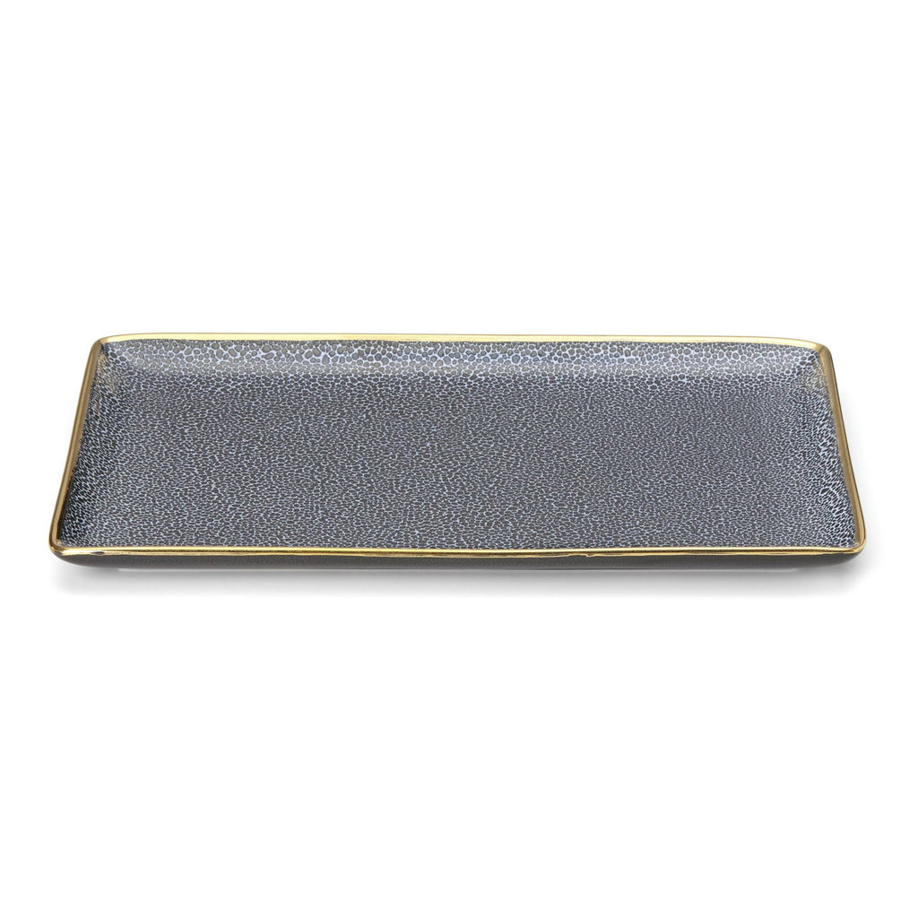 Panthera Indigo Martini Tray Set
