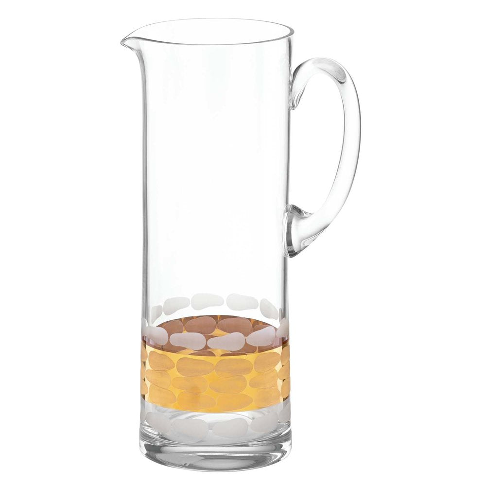 Truro Gold Glass Pitcher