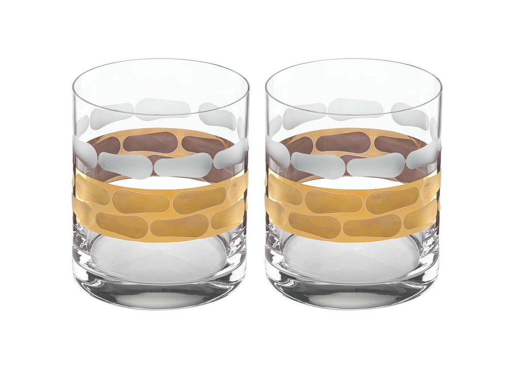 Truro Gold Double Old Fashioned Set of 2