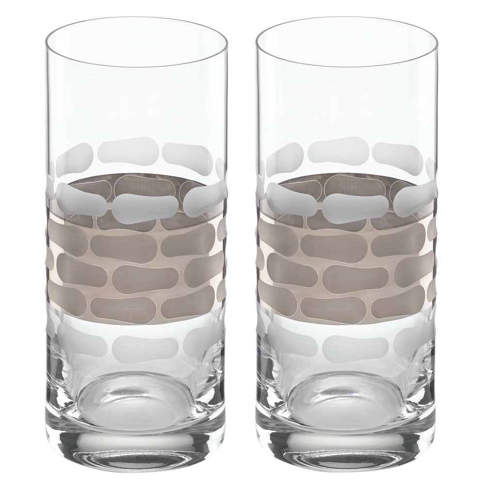 Truro Platinum Highball Set of 2