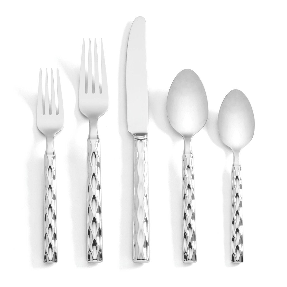 Truro Platinum 5 Piece Place Setting