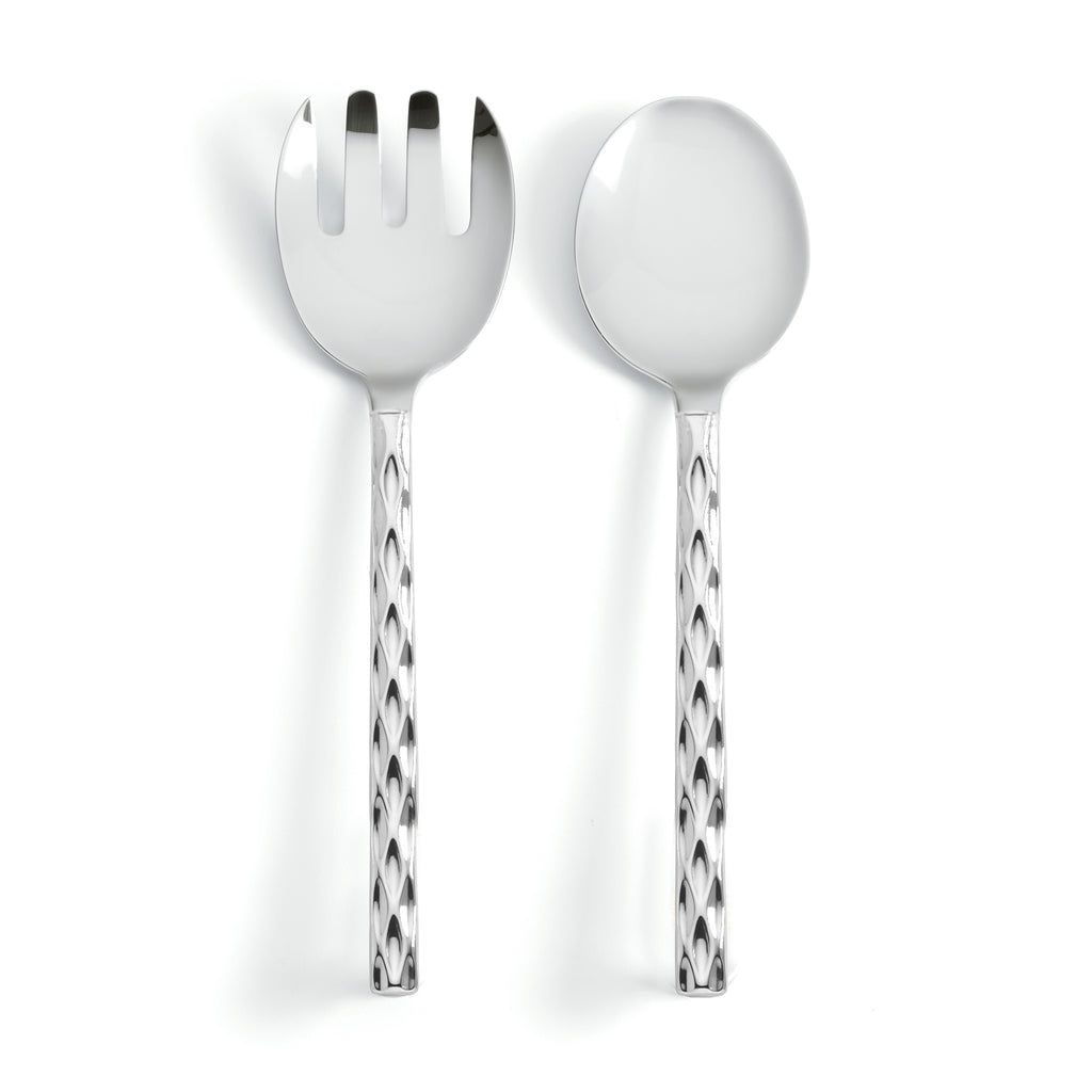 Truro Platinum Salad Servers
