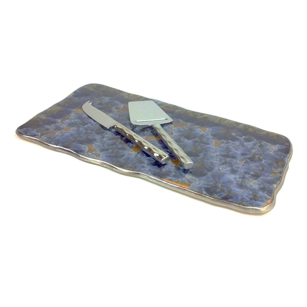 Borealis Frost Blue Medium Tray