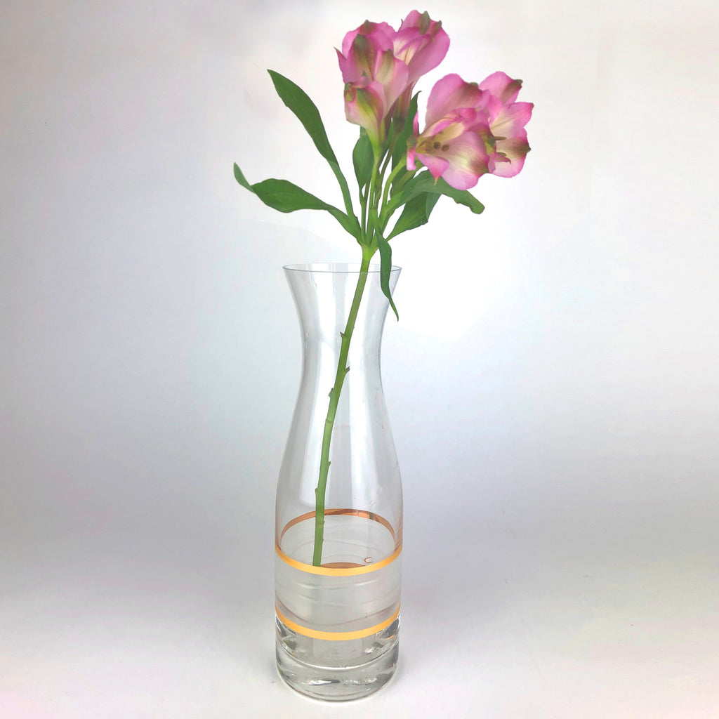 Ile de Re Gold Carafe/Vase