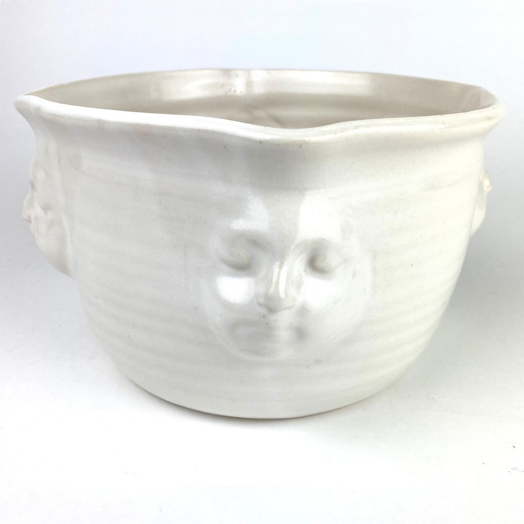 Face Bowl White