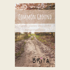 Common Ground - BRiYA - Book - available to buy online at https://iambriya.com