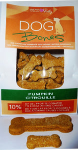 PUMPKIN DOG TREATS - WHEAT FREE