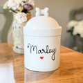Personalized Large Airtight Dog Treat Jar