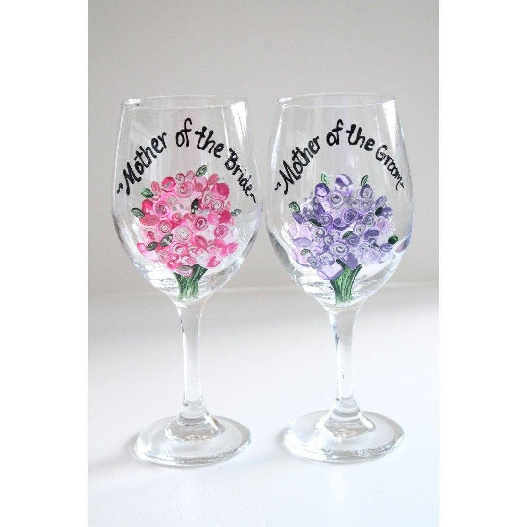 Mother of the Bride Wine Glass