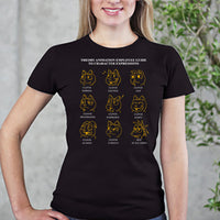Theory Animation Employee Guide to Character Expressions Shirt!