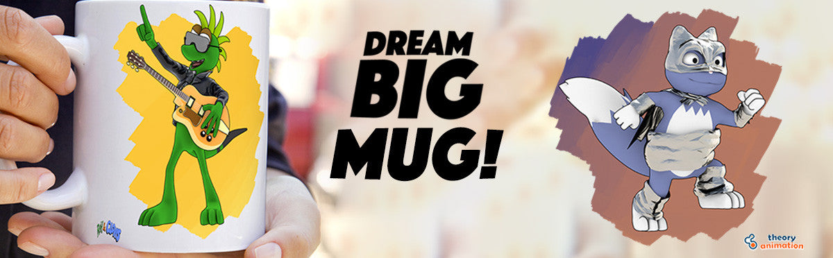 Ray & Clovis Dream Big Mug!