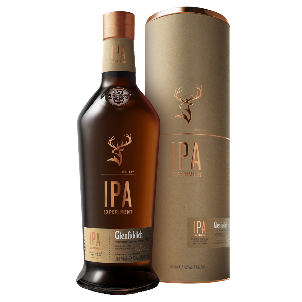 Glenfiddich Experimental Series IPA Experiment