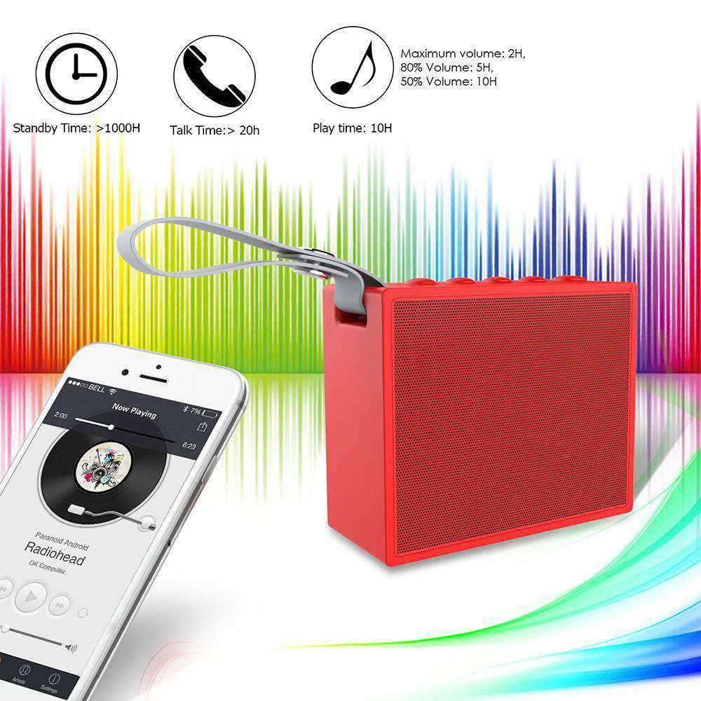 Waterproof Wireless Bluetooth Speaker W/ 5W Driver