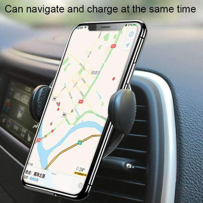 Air Vent Fast Wireless Charger Holder
