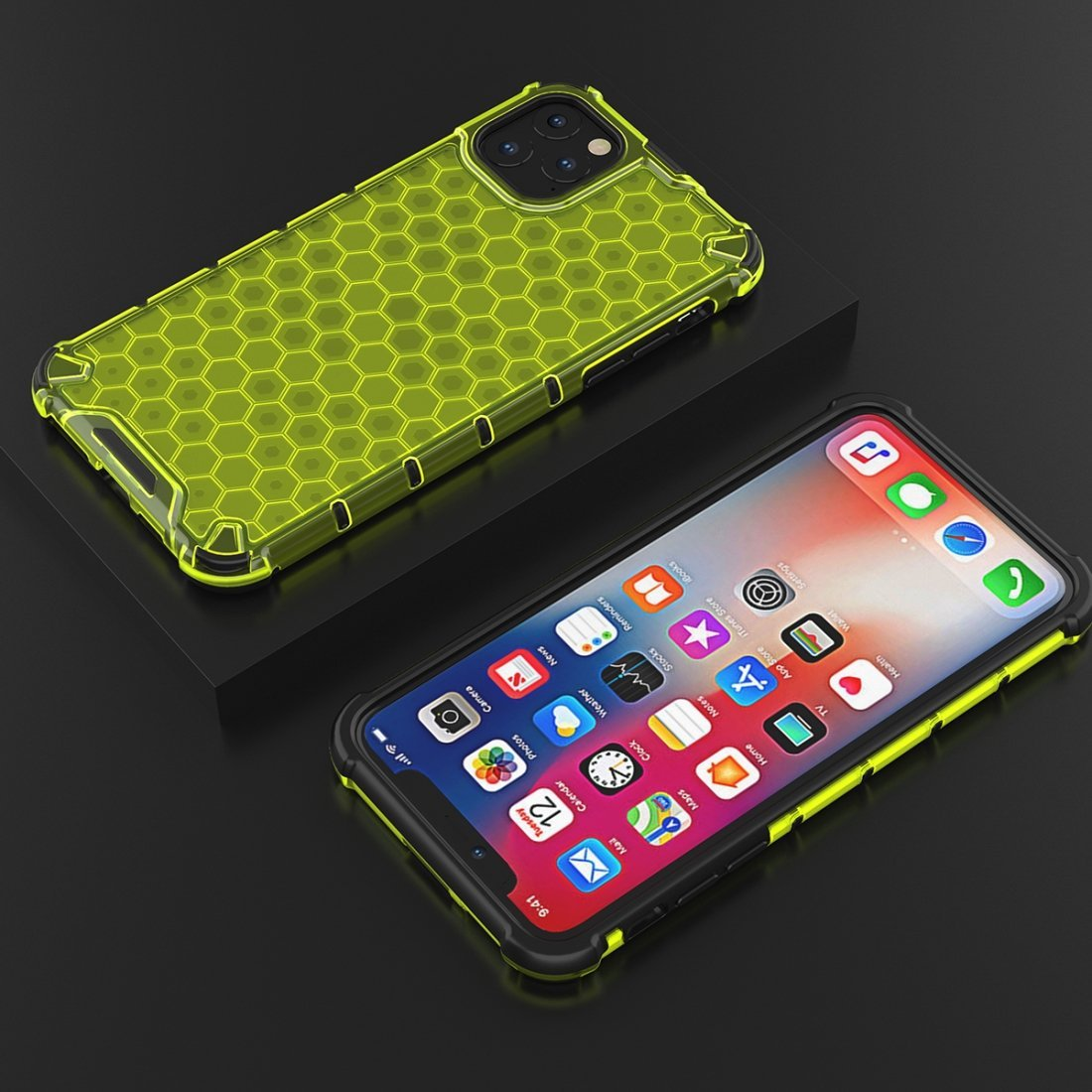 Honeycomb Bumper Case for iPhone 11 Pro