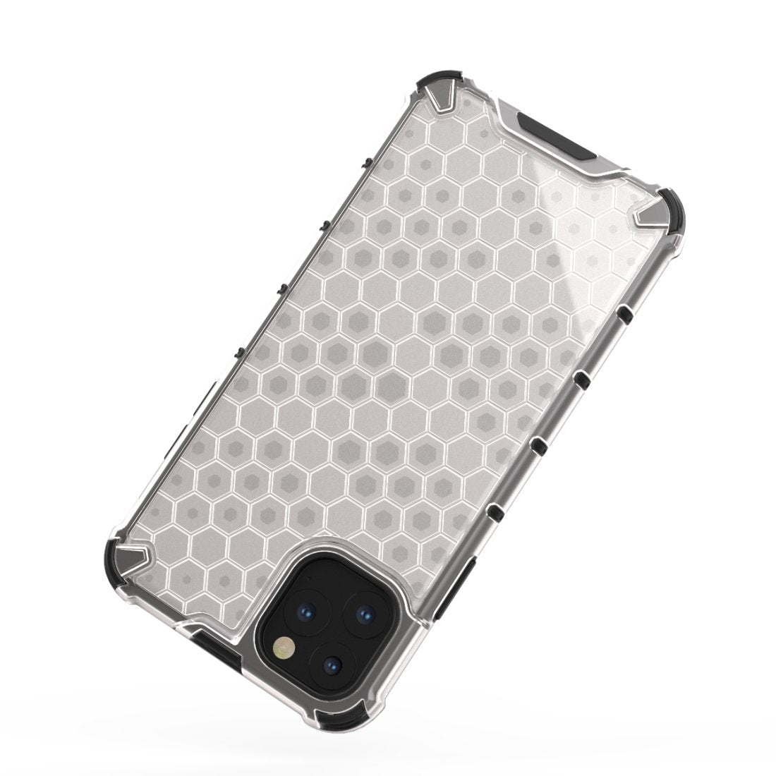 AMZER Honeycomb SlimGrip Hybrid Bumper Case for iPhone 11 Pro Max