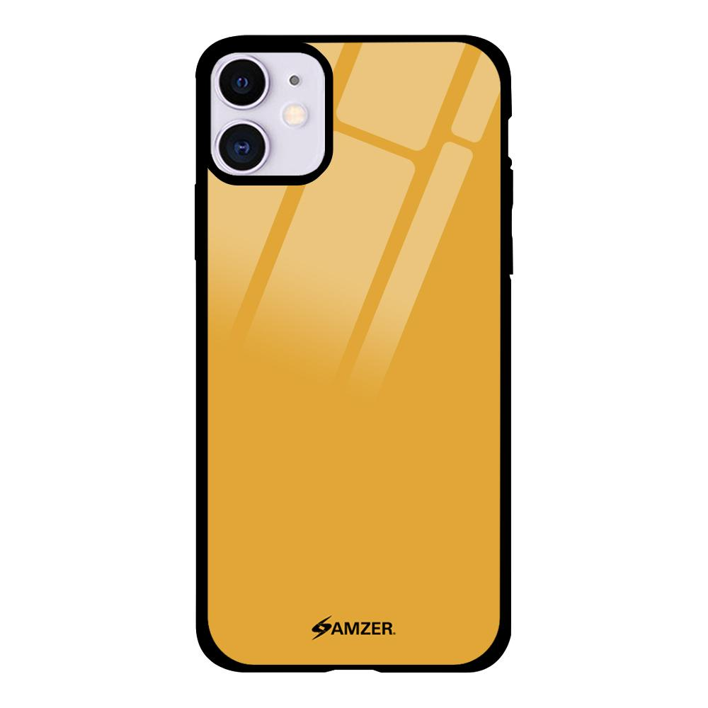 Glass Case with HD Design - Gold