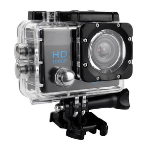 Open image in slideshow, Full HD 1080P Waterproof Action Camera
