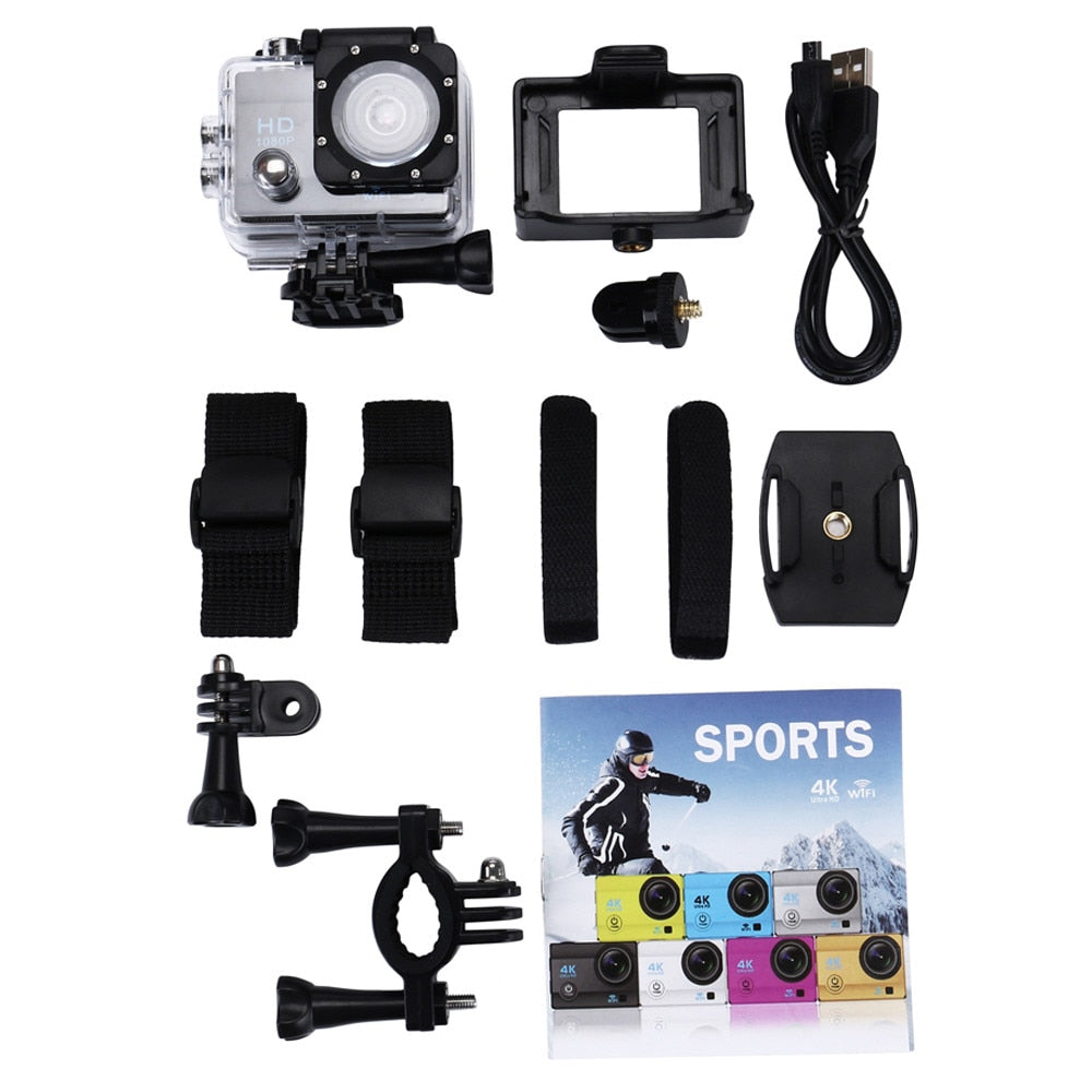 Full HD 1080P Waterproof Action Camera