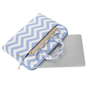 Open image in slideshow, Stylish Striped Laptop Bag for MacBook Air Pro 13
