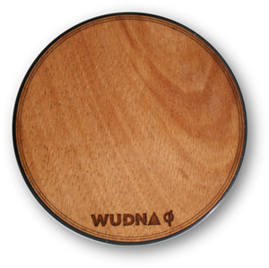 Open image in slideshow, Wooden 10w Qi Wireless Charger