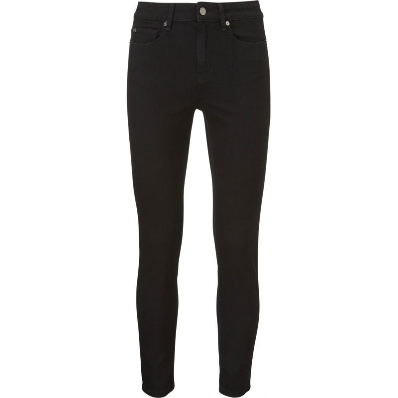 Alexa Ankle Jeans Seriously Black Black