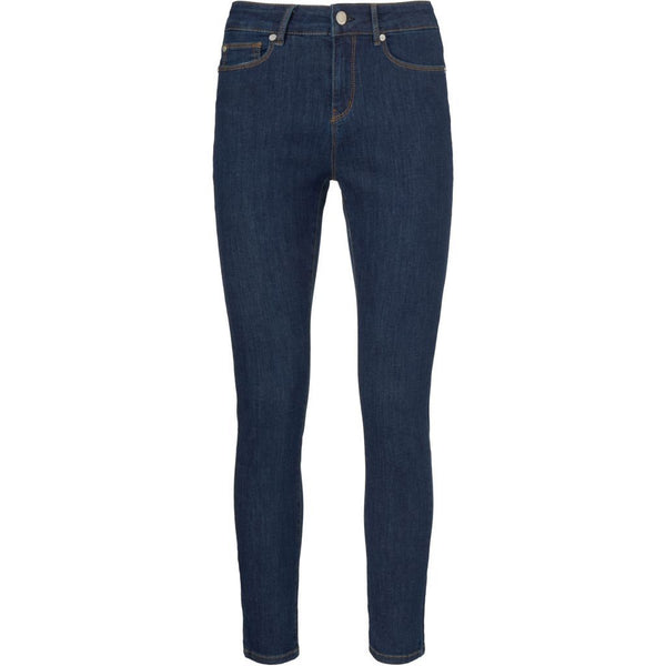 Alexa Ankle Jeans Excl. Blue Denim Blue