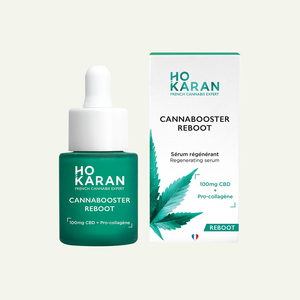 Sérum Repulpant au CBD - Cannabooster Reboot - 20ml