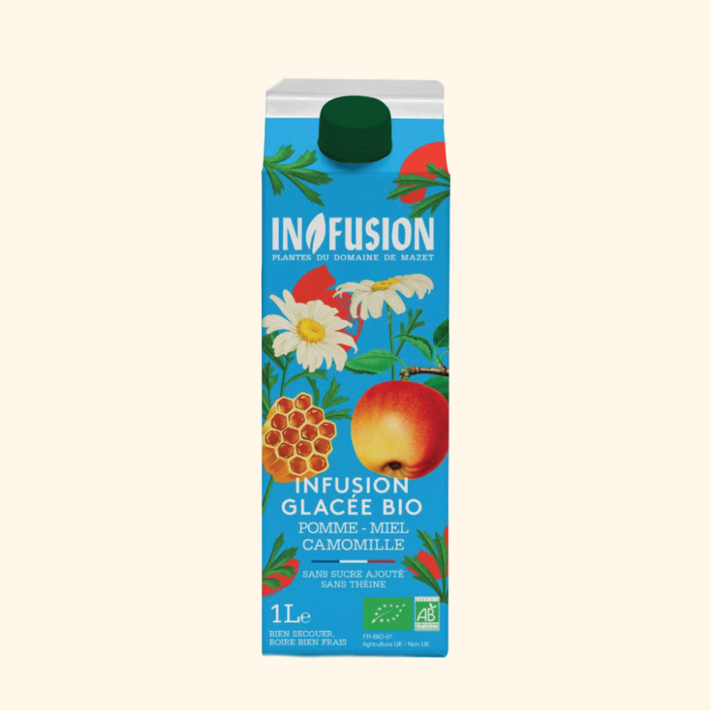 Infusion Glacée Pomme Miel Camomille Bio - 1L
