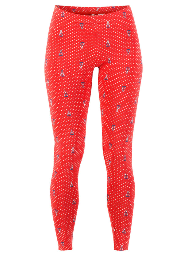 Who Let The Fox Out Legs Red Tippi Dots von Blutsgeschwister