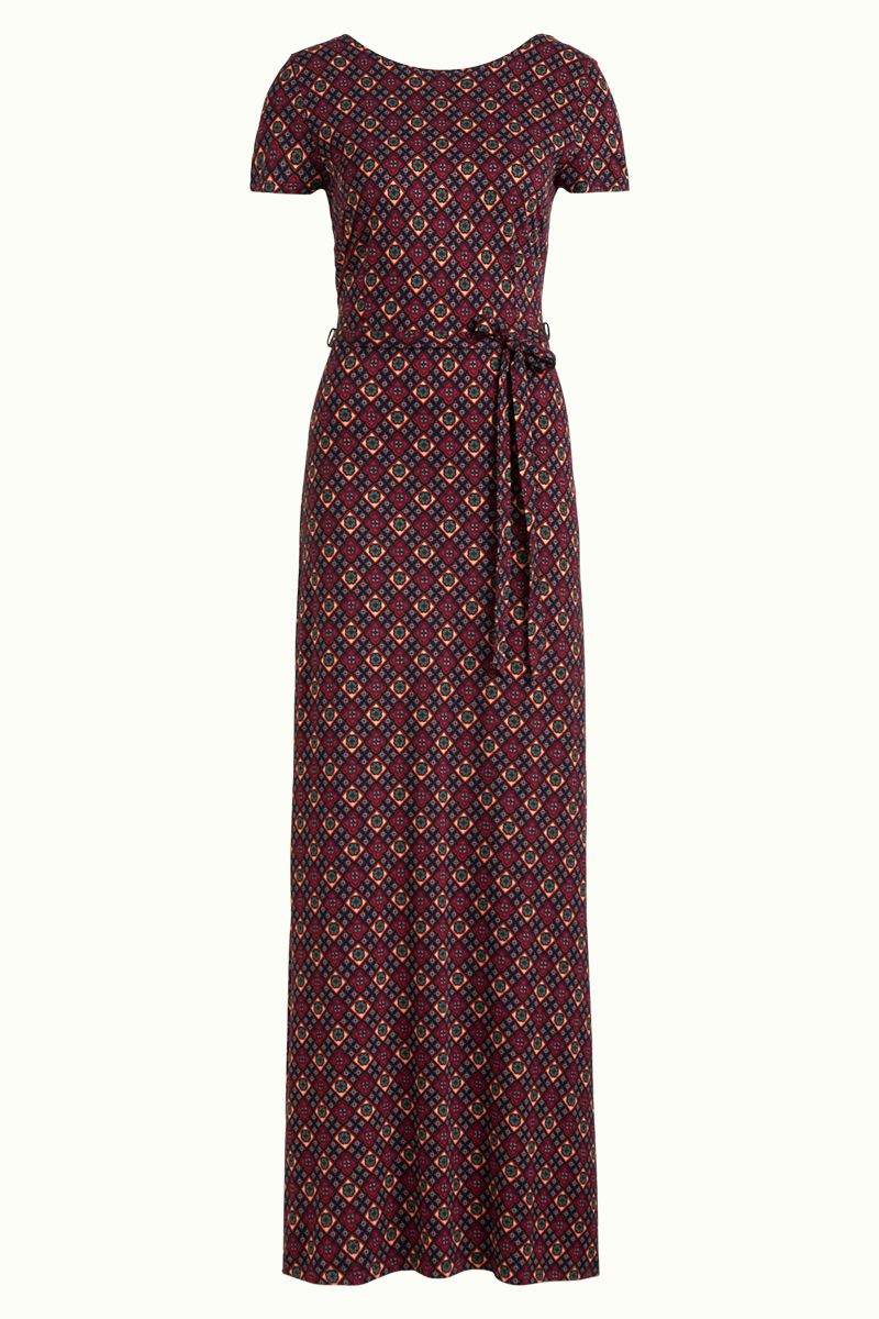 Sally Maxi Dress Lisboa Night-Sky Blue von King Louie