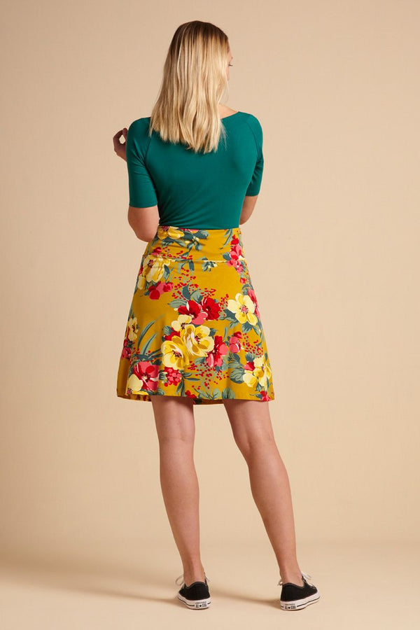Border Skirt Lavish Spice Yellow von King Louie