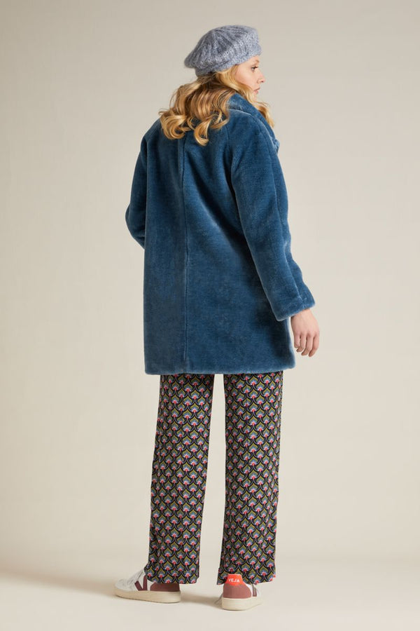 Amy Coat Zoot Bluestone Blue von King Louie