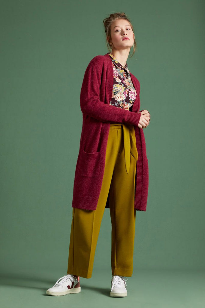 Ava Pants Tullerie Chartreuse Yellow von King Louie