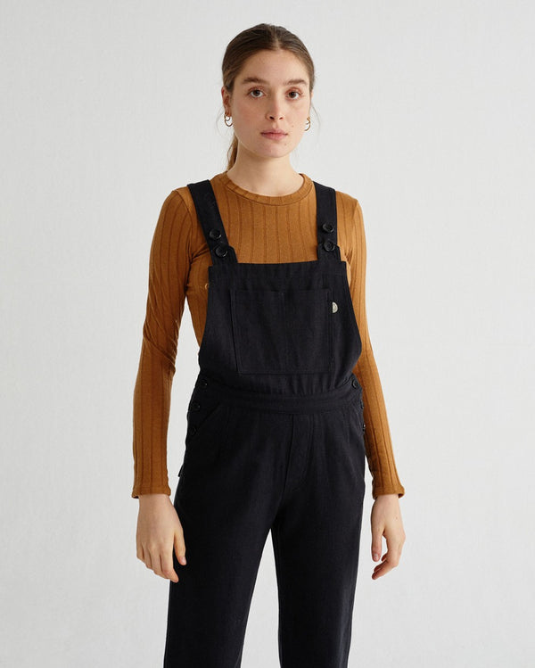 Black Hemp Venus Overall von Thinking MU