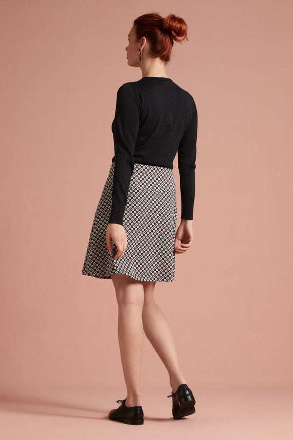 Border Skirt Tate Black von King Louie