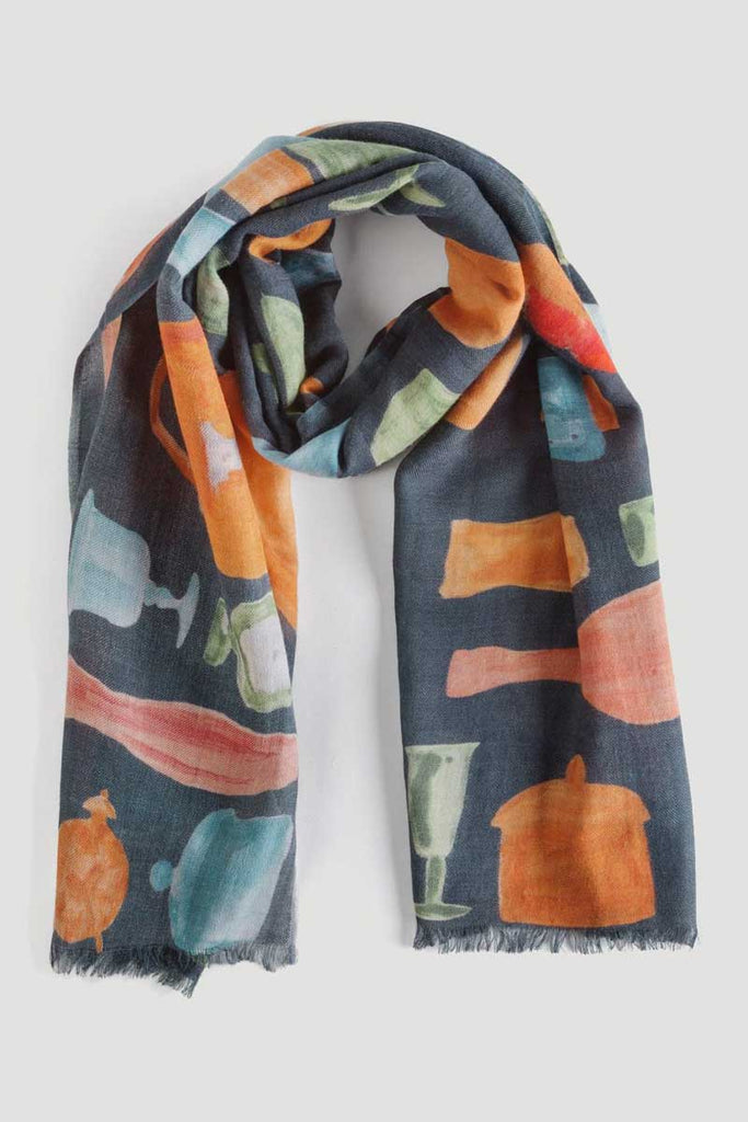 Halstuch Still Live Scarf Navy von Nice Things