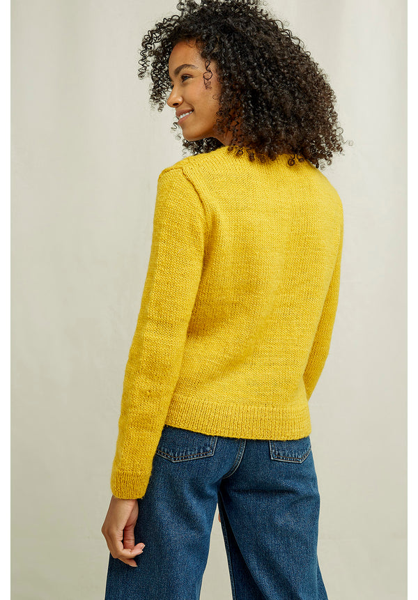 Honeycomb Strick Pullover People Tree