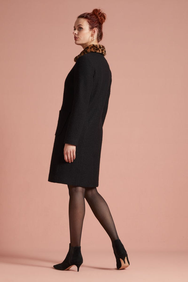 Nathalie Coat Kennedy Black von King Louie