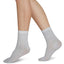 SWEDISH STOCKINGS Stella Shimmery Socks 80 Denier Light Grey