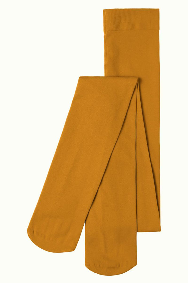 Tights Solid Sunset Yellow von King Louie