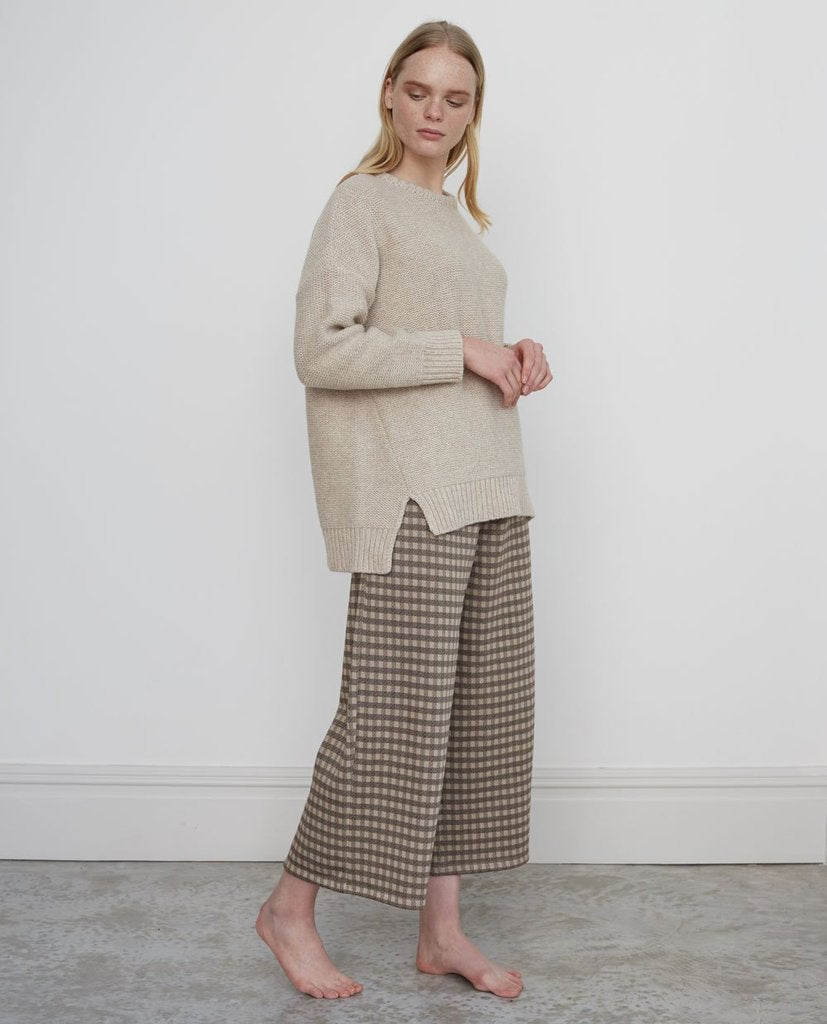 Evora Organic Cotton Trousers In Cinnamon von Beaumont Organic