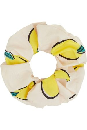Haargummi Lemon Scrunchie Gelb Multi