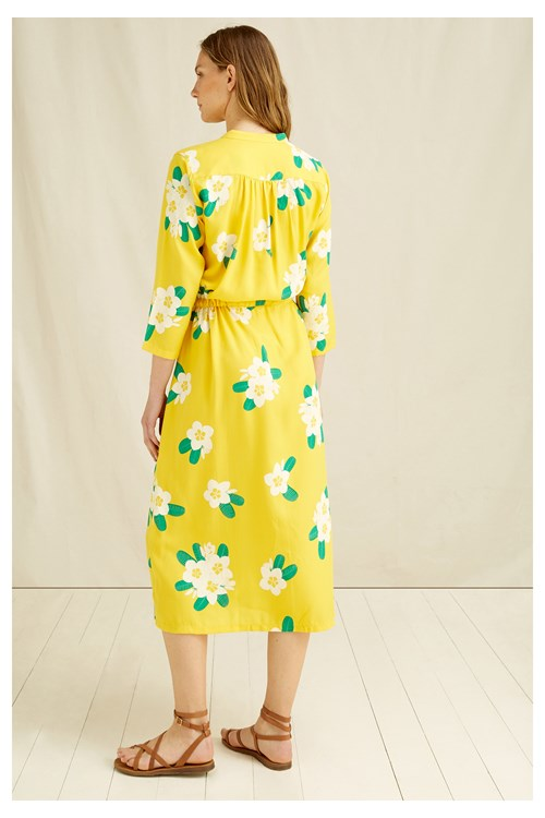 Savannah Plumeria Shirt Dress