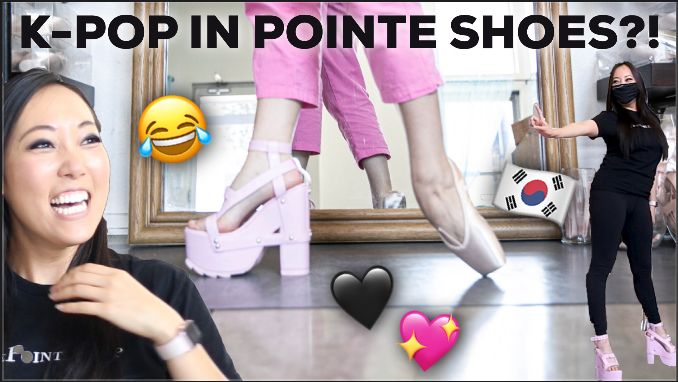Pointe Shoe Fitting a K-Pop Dancer