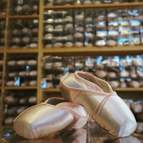 Pointe Shop Pointe Shoe Wall