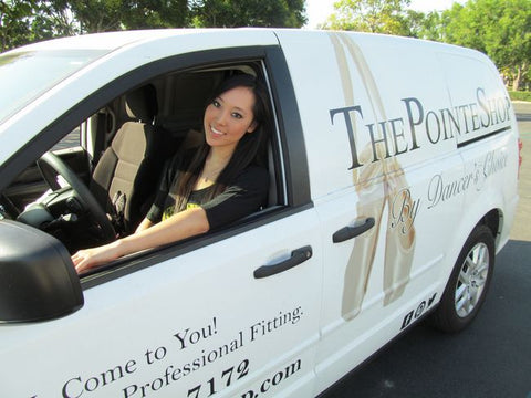 Traveling Pointe Shoe Fitters