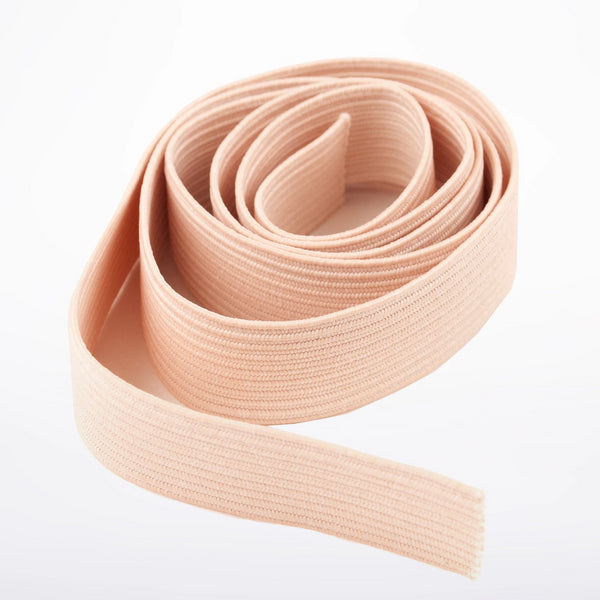 2 Elastics + Satin Ribbon