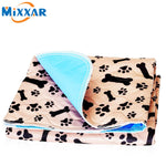Waterproof Dog & Cat Soft Cushion Mat Bed (Sleeping Cover Towel) For Small Medium Large Pets